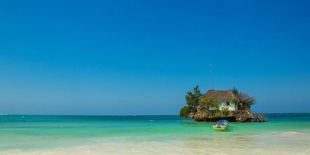 The Rock, Zanzibar, Tanzania