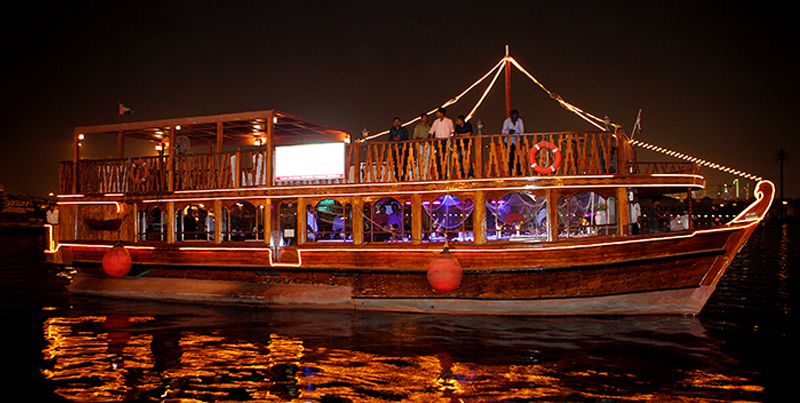 Dubai Dhow Cruise, United Arab Emirates