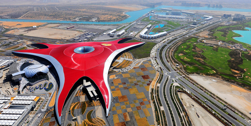 Ferrari World, Abu Dhabi, United Arab Emirates
